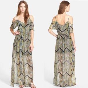 'Mazatlan' Silk Maxi Dress ELLA MOSS NWOT